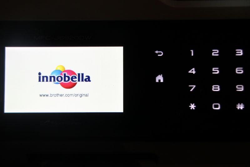 Bedienfeld auf dem Touch-Monitor des Brother MFC J6920DW